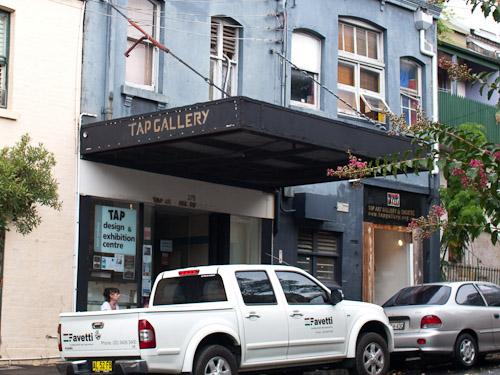 TAP Gallery Sydney in Darlinghurst